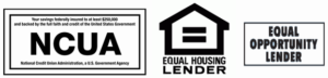 NCUA, Equal Housing Lender and Equal Opportunity Lender