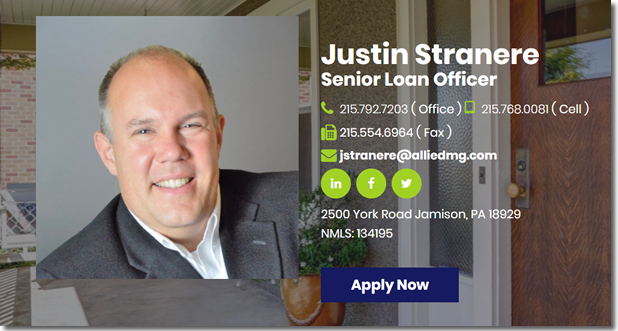 Allied Mortgage Group photo of Justin Stranere